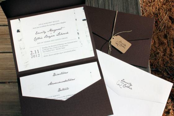Rustic Wedding Invitations Boise Idaho
