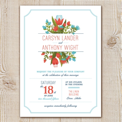 Boise Wedding Invitations