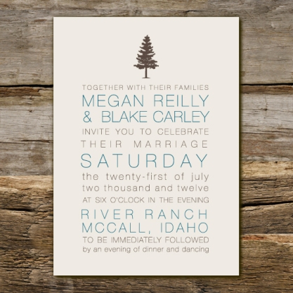 Wedding Invitations Boise