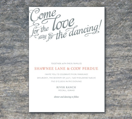 Unique Wedding Invitations Boise