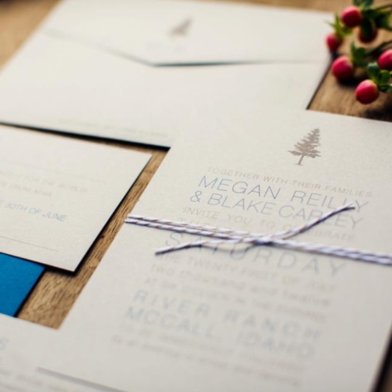 wedding invitatins boise idaho